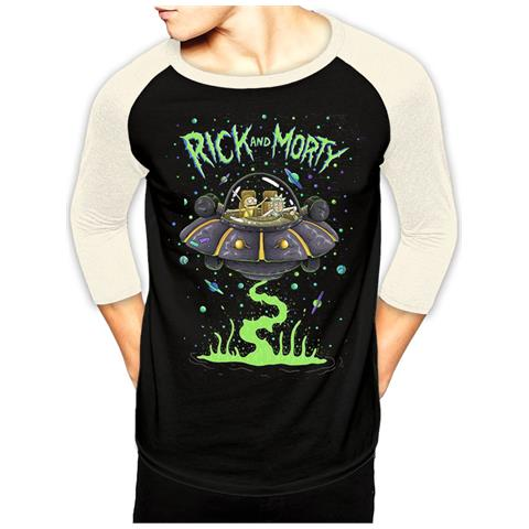 CID Rick And Morty - Spaceship Baseball (T-Shirt Unisex Tg. Xl)