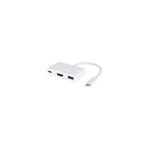 MICROCONNECT 0.2m USB C - USB / HDMI / USB, USB C, HDMI, 2 x USB, Maschio / femmina, Bianco