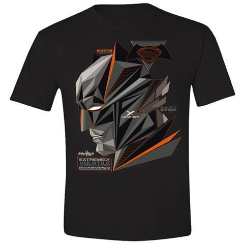 TimeCity Batman V Superman - Cubic Head Black (T-Shirt Bambino Tg. L)