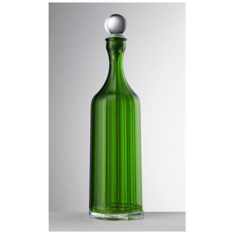 Bottiglia Bona Acrilico Con Tappo H 35,5 Cm Colore Verde