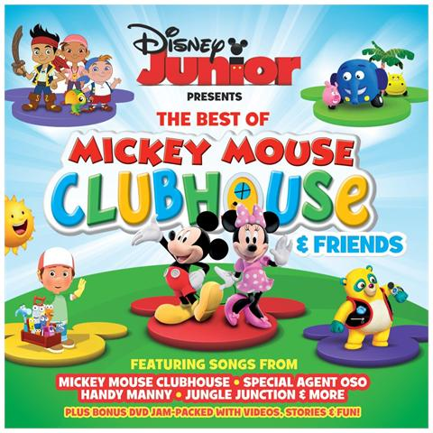 WALT DISNEY Disney Junior - The Best Of Mickey Mouse (Cd+Dvd)