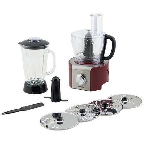 MX18 Robot da Cucina Potenza 800 Watt Capacità 1,5 Litri Colore Rosso