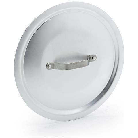 Coperchio Tondo Pesante In Alluminio