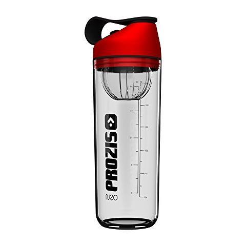 Neo Mixer Bottle 2.0 - Crystal Elite Red-