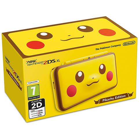 Image of New Nintendo 2DS XL Pikachu Edition - Limited Edition