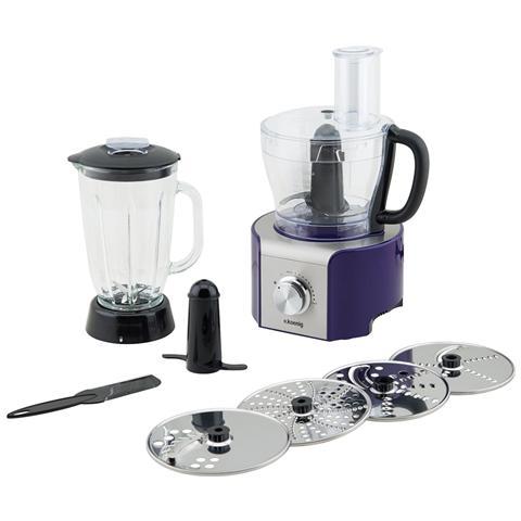 MX18 Robot da Cucina Potenza 800 Watt Capacità 1,5 Litri Colore Viola