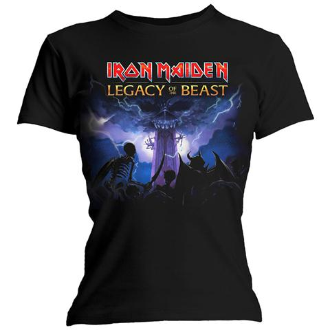 ROCK OFF Iron Maiden - Legacy Army (T-Shirt Donna Tg. L)