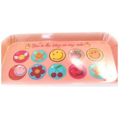 Smiley tea cake '' pesca - [ l9082]