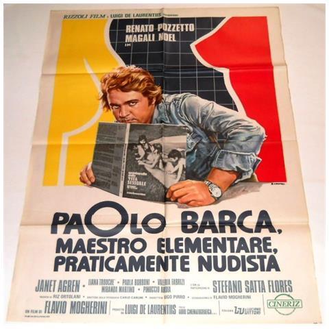 Vendilosubito Manifesto A2 Originale Del Film Paolo Barca Renato Pozzetto