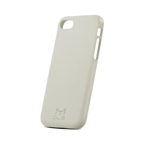 MOLS Custodia Antiurto per iPhone 7 Sottile e Flessibile Italian Design Colore Stone