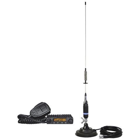 Kit Radio Cb Ae 6110 Asq + Antenna Cb Pni S75 Con Base Magnetica