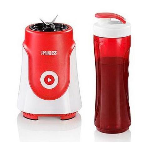 Personal Blender Frullatore Capacità 0.6 Litri Potenza 250 Watt Colore Rosso