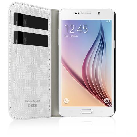 SBS Custodia A Libro Bookstyle Per Samsung Galaxy S6