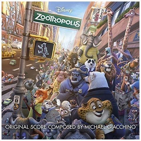 WALT DISNEY Michael Giacchino - Zootropolis