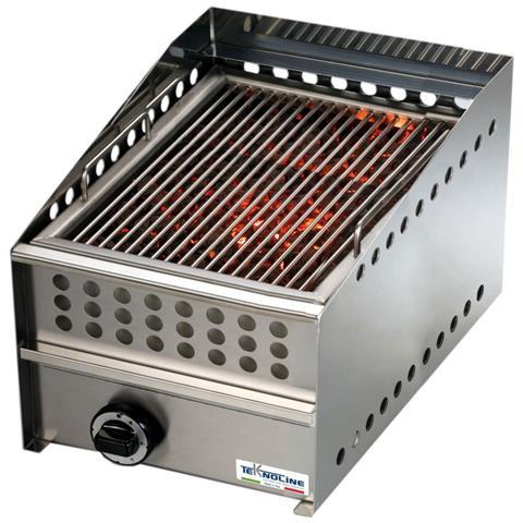 Griglia a gas professionale 9000 W