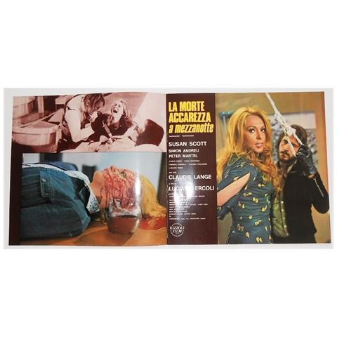 Vendilosubito Brochure In Francese Originale Del Film La Morte Accarezza A Mezzanotte 1972