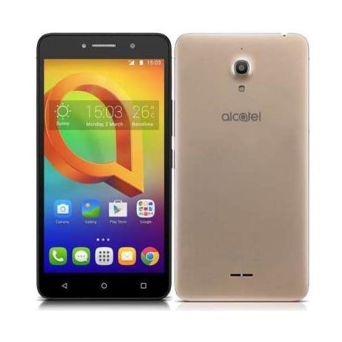 "ALCATEL A2 XL Oro 8 GB 3G Dual Sim Display 6"" HD Slot Micro SD Fotocamera 8 Mpx Android Italia"
