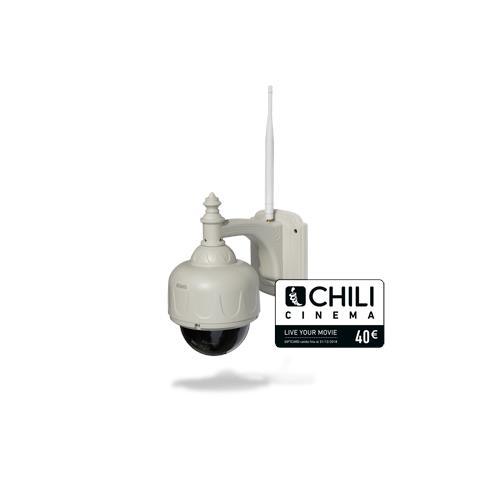 Videocamera IP PlusCam HD 7500 Wi-Fi da Esterno Giorno / Notte Sensore CMOS