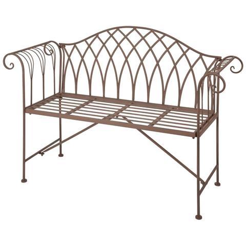 Panchina In Metallo Stile Old English Mf009