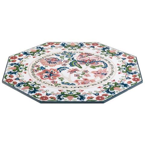 Ceramica Ottagono Cm 37x37 H. 8,5 Kyma Ceramica