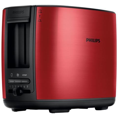 HD2628/41 Tostapane Potenza 950 Watt Rosso