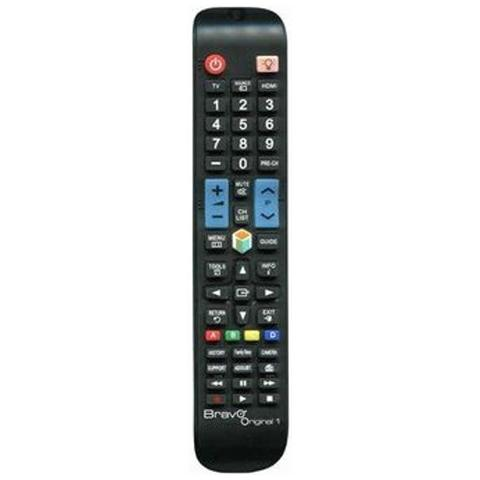 BRAVO Telecomando Dedicato Tv Samsung Nero