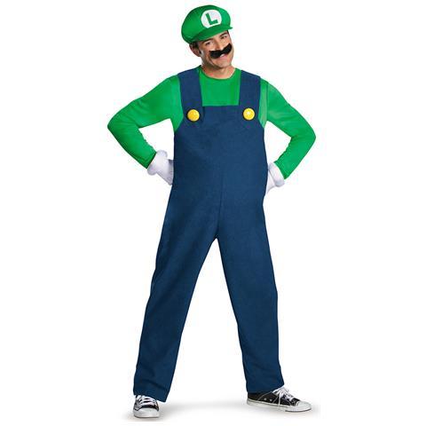 dbafe693a74b JADEO - Costume Deluxe Da Luigi Per Adulto Xl - ePRICE