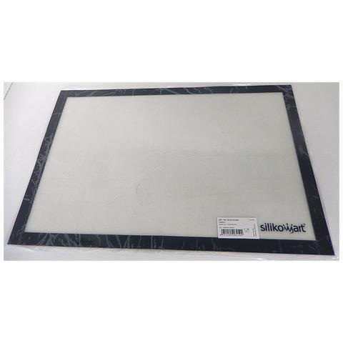 FIMEL Tappeto In Silicone E Fibra Di Vetro 620x420mm Bianco
