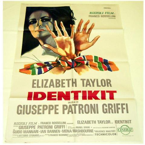 Vendilosubito Manifesto Originale Del Film Identikit