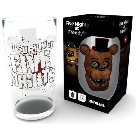 Five Night At Freddy's - Fazbear (bicchiere)