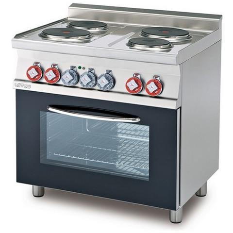 Cucina A Gas Professionale 6 Fuochi Afp / Pc-6f
