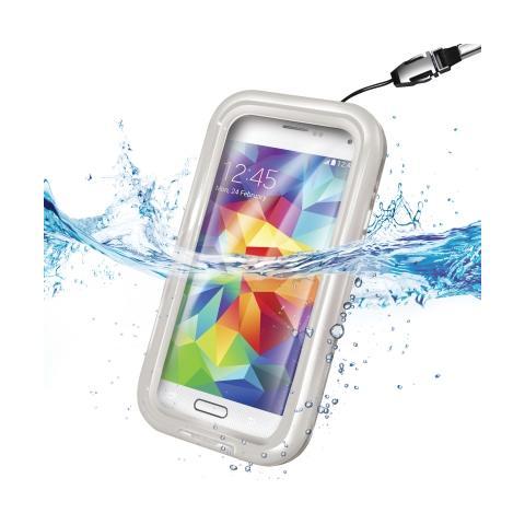 CELLY Custodia Waterproof per Galaxy S4 - Bianco