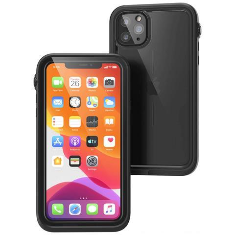 Cover Iphone 11 Pro Max Waterproof 10m Prot. Acqua Neve Sabbia Catalyst Nero
