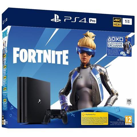 SONY [ Ricondizionato GOLD] Console PS4 Pro 1TB Gamma + Fortnite VCH 2019