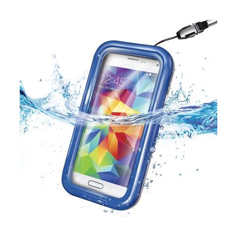 CELLY Custodia Waterproof per Galaxy S5 - Blu
