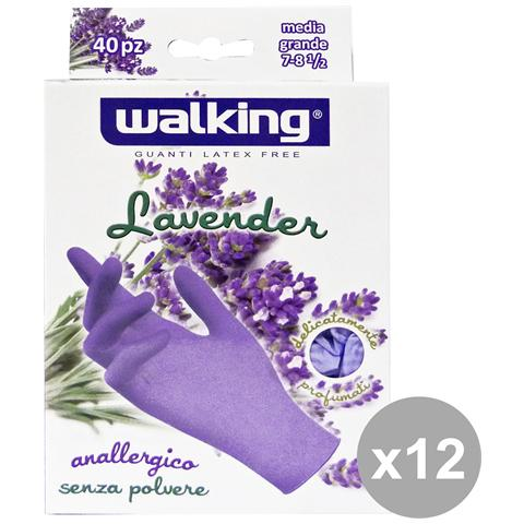 Walking Set 12 X 40 Lavender M-l Lattice Senza Polvere Walking - Giardinaggio
