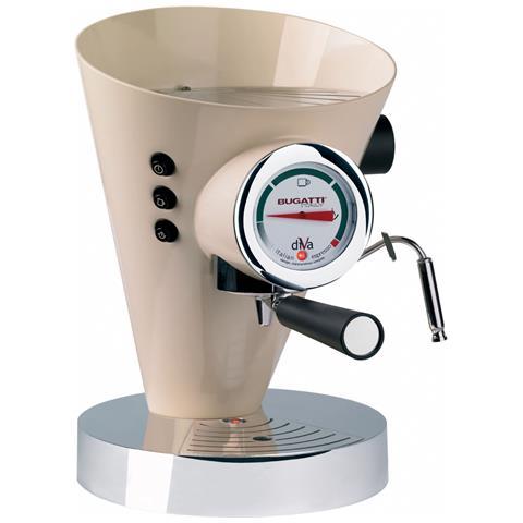 Macchina Caffé Espresso Manuale Diva Capacità Serbatoio 0,8 Litri Potenza 950 Watt Colore Crema