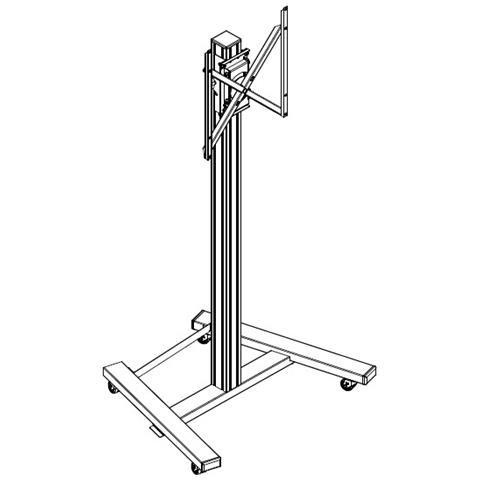 Kit di Installazione per Flip 55'' / 65'' Base Mobile PM5960 + Staffa Eco Flipboard PM5955...
