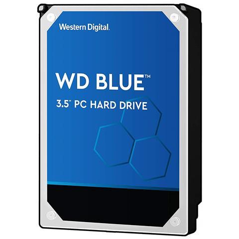"""WESTERN DIGITAL Hard Disk Interno WD Blue 1 TB 3.5"""" Interfaccia Sata III 6 Gb / s 7200 RPM Buffer 64 MB"""