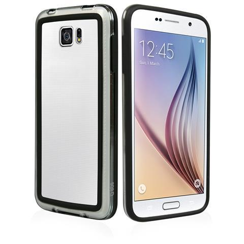 SBS Cover Bumper Nero Per Samsung Galaxy S6
