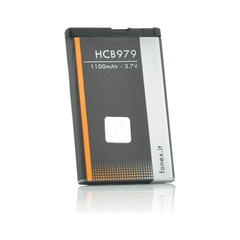 FONEX Batteria Li-Ion High Capacity 1100 mAh per Nokia 5220 / C5 / C6-01