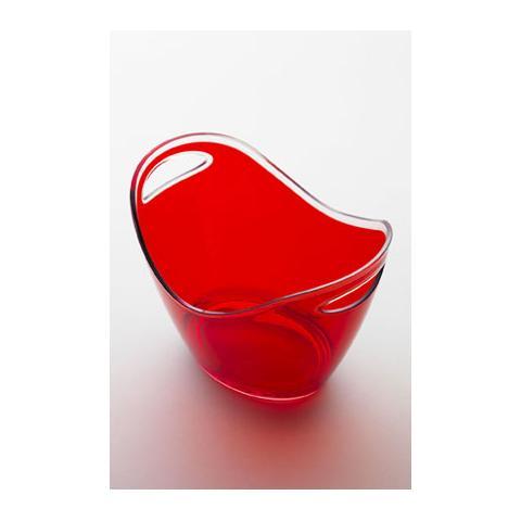 Portaghiaccio Culla Piccola Acrilico 20x27 H 20 Cm Colore Rosso