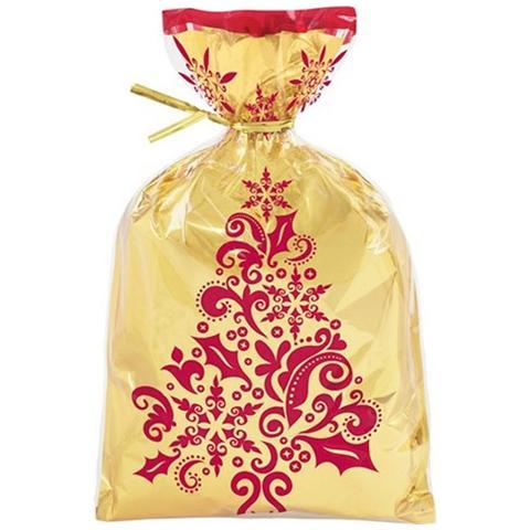 WILTON 8 Sacchetti Damascati Oro Con Laccetto