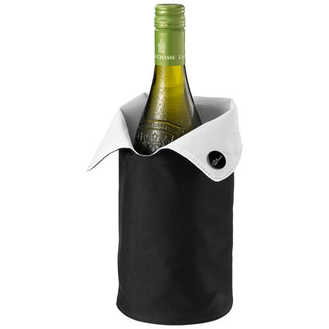 Noron Glacette Da Vino (25 X 10 Cm) (nero Lucido / bianco)