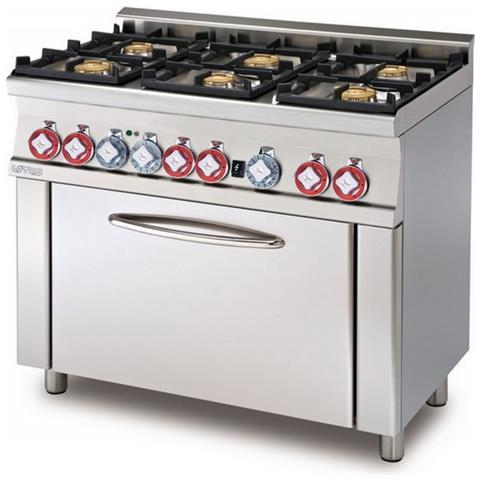 Cucina A Gas Professionale Afp / Cf6-610gem