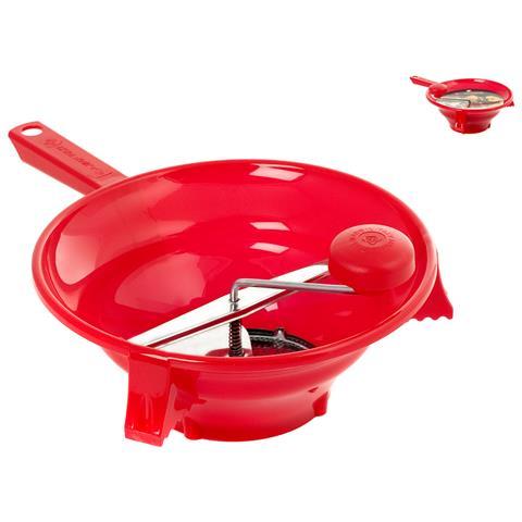 HOME Passaverdura 3 Dischi Diametro 30 cm Rosso