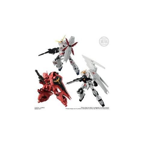 BANDAI SHOKUGAN Ms Gundam G-frame S. 1 (10 Pcs Display) Mini Figura