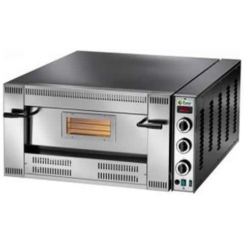 Forno pizzeria a gas camera singola cm. 92x92x15,5h.