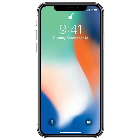 Apple iPhone X 64 GB Argento (Ricondizionato GOLD)