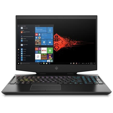 Image of Notebook OMEN 15-DH0059NL Monitor 15.6'' Full HD Intel Core i7-9750H Ram 16 GB SSD 1 TB Nvidia GeForce RTX 2060 6 GB 1xUSB 3.1 3xUSB 3.0 Windows 10 Home
